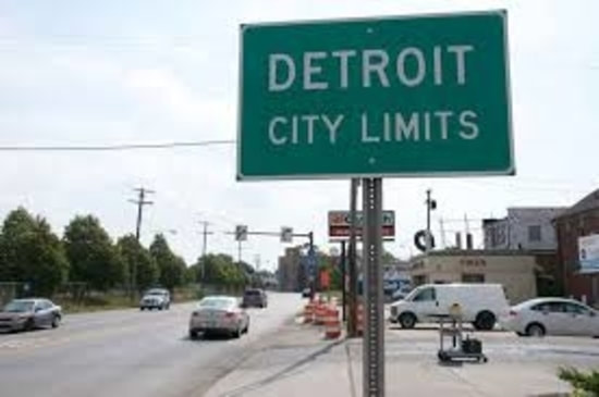 Sign of Detroit MI